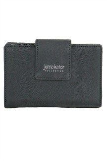 Leelanau Wallet - Midnight Black
