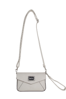 Ada Crossbody|Wristlet - Cream