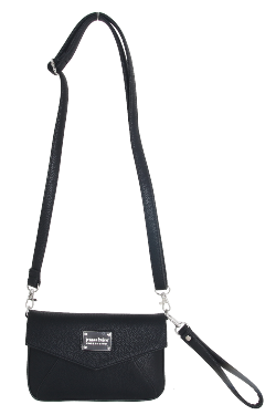 Ada Crossbody|Wristlet - Night Sky Black
