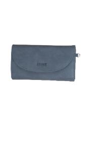 Adrian Wristlet Wallet - Dusty Blue