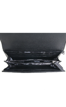 Adrian Wallet|Wristlet - Night Sky Black (Top)