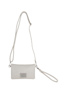 Allegan Crossbody|Wallet - Cream