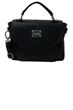 Ambassador Bridge Crossbody - Black Licorice