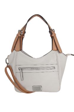 Berrien Springs Handbag - Cream