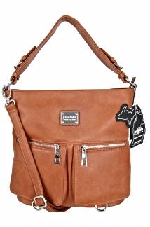 Charlevoix Handbag- Rustic Tan