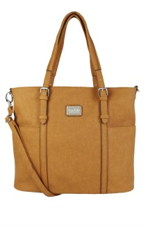 Commerce Tote - Caramel