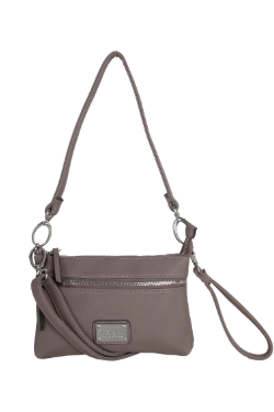 Cross Village Handbag - Mocha