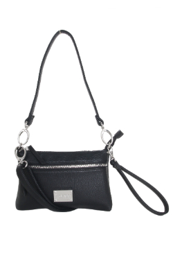 Cross Village Handbag - Night Sky Black
