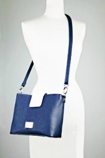 Crystal Lake Handbag - Regatta Blue/White