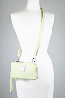 Ellsworth Crossbody|Wristlet - Lime