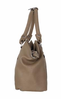 Farmington Handbag - Clay (Side)