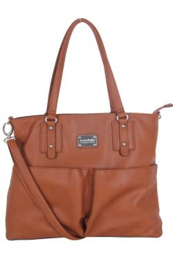 Fowlerville Handbag - Rustic Tan