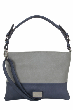 Harbor Springs Handbag - Lapis|Smoky Gray