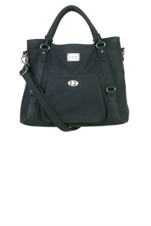 Huntington Handbag - Black Licorice