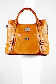 Huntington Handbag - Rustic Tan