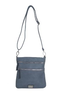 Mackinac Bridge Crossbody - Dusty Blue