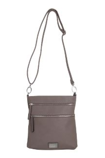 Mackinac Bridge Crossbody - Mocha
