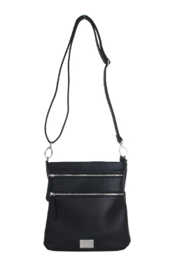 Mackinac Bridge Crossbody - Night Sky Black