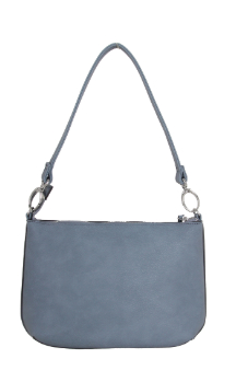 Munising Handbag - Dusty Blue (Back)