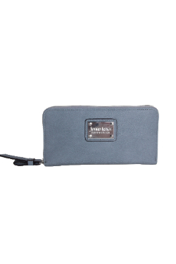 Peninsulas Wallet - Dusty Blue