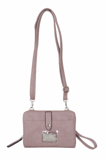 Little Sable Crossbody|Wristlet - Rosebay