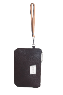 Saugatuck Wristlet - Chestnut Brown