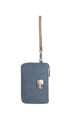 Saugatuck Wristlet - Dusty Blue