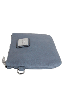 Saugatuck Wristlet - Dusty Blue (Side)