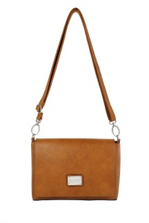 Silver Lake Crossbody - Rustic Tan