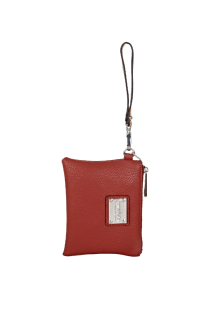 South Haven Wristlet - Burnt Orange