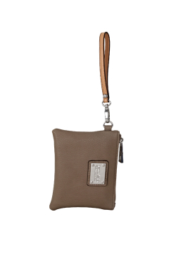 South Haven Wristlet - Clay