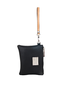 South Haven Wristlet - Night Sky Black
