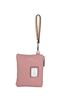 South Haven Wristlet - Rose Pink