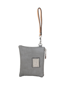 South Haven Wristlet - Smoky Gray