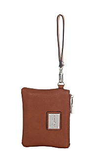 South Haven Wristlet - Rustic Tan