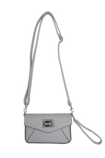 Ada Crossbody|Wristlet - Farmhouse Gray