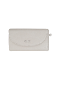 Adrian Wristlet Wallet - Cream