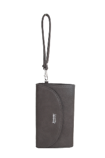 Adrian Wallet-Wristlet - Twilight Gray
