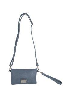 Allegan Crossbody|Wallet - Dusty Blue