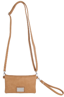 Allegan Crossbody|Wristlet - Honey