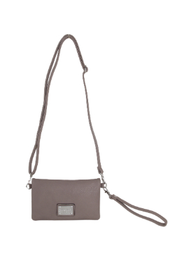 Allegan Crossbody|Wallet - Mocha