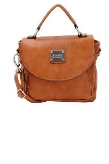 Ambassador Bridge Crossbody - Rustic Tan