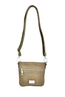 Armada Crossbody - Bark Brown