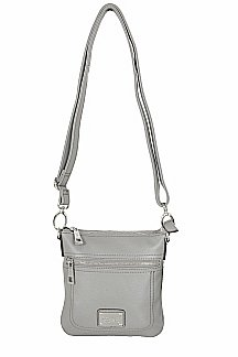 Armada Crossbody - Ash Gray