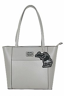 Point Betsie Handbag - Ash Gray
