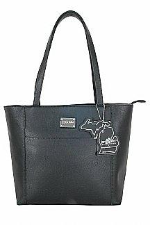 Point Betsie Handbag - Black Licorice