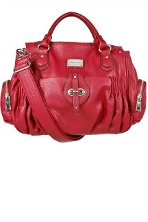 Bloomfield Handbag - Cranberry