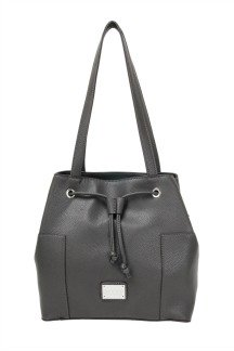 Blue Water Bridge Handbag - Graphite Gray