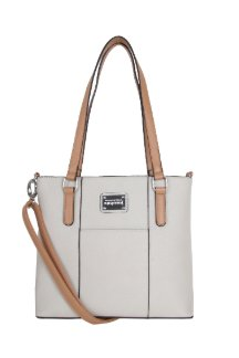 Boyne City Handbag - Cream