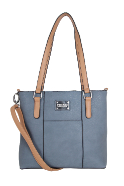 Boyne City Handbag - Dusty Blue